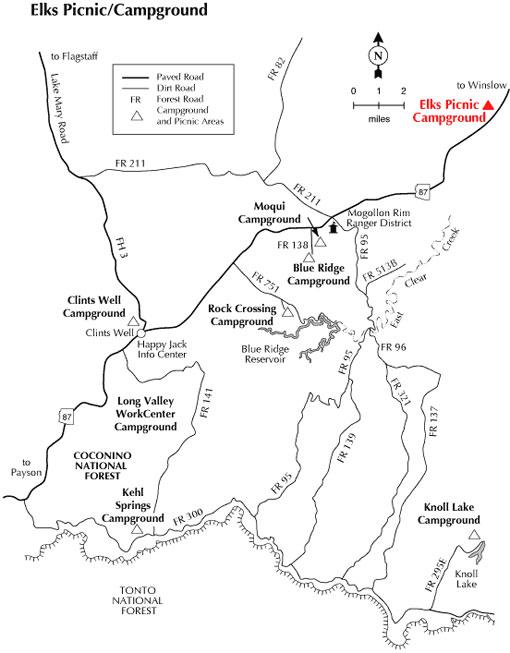 Map Of Highway 87 Arizona.Fcf Family Camp Arizona District Royal Rangers Arizona District
